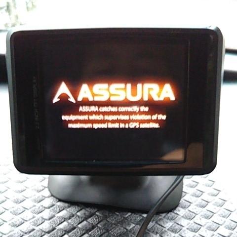★セルスター★ASSURA・AR-510FT◆中古品レーダー探知機