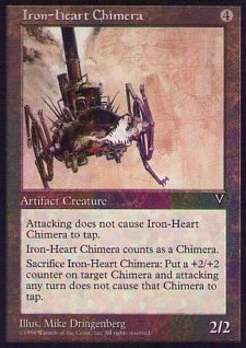 016060-002 VI/VIS 鉄の心臓のキマイラ/Iron-Heart Chimera 英1枚