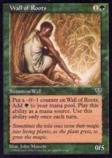 015329-002 MI/MIR 根の壁/Wall of Roots 英1枚