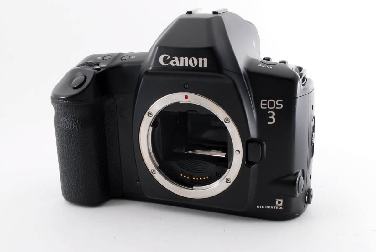 ☆美品 動作正常☆ Canon EOS 3 キャノン EOS3 キヤノン フィルム 一眼レフ カメラ_画像2