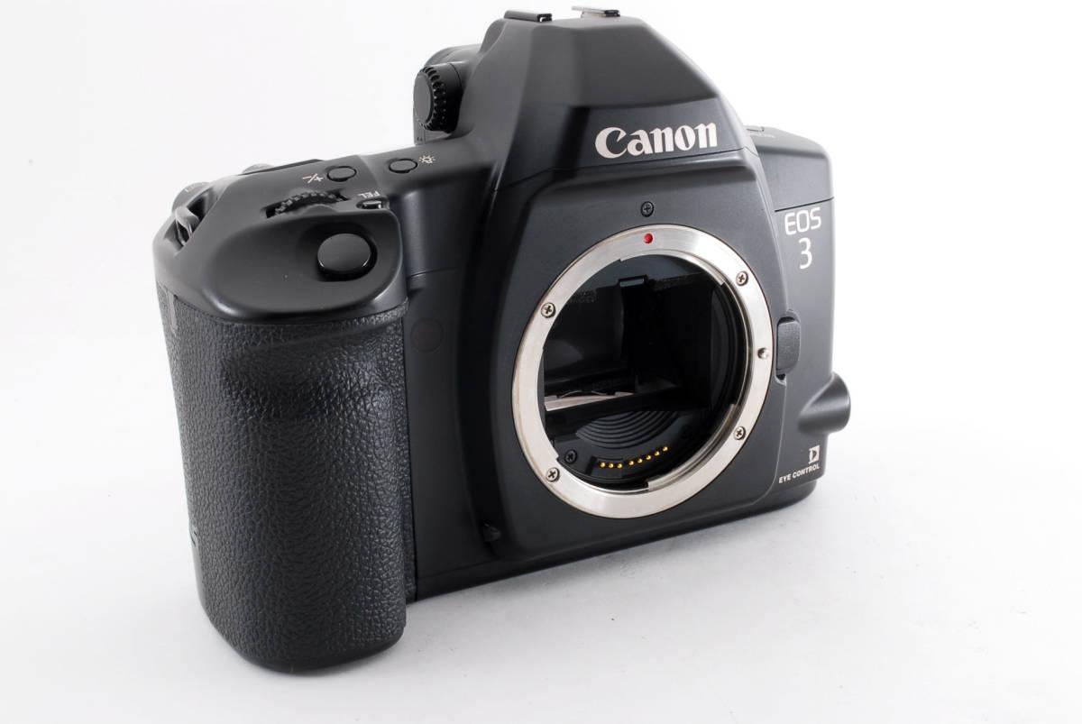 ☆美品 動作正常☆ Canon EOS 3 キャノン EOS3 キヤノン フィルム 一眼レフ カメラ_画像4