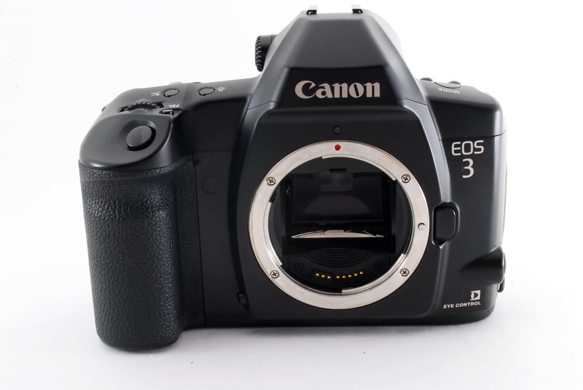 ☆美品 動作正常☆ Canon EOS 3 キャノン EOS3 キヤノン フィルム 一眼レフ カメラ_画像3