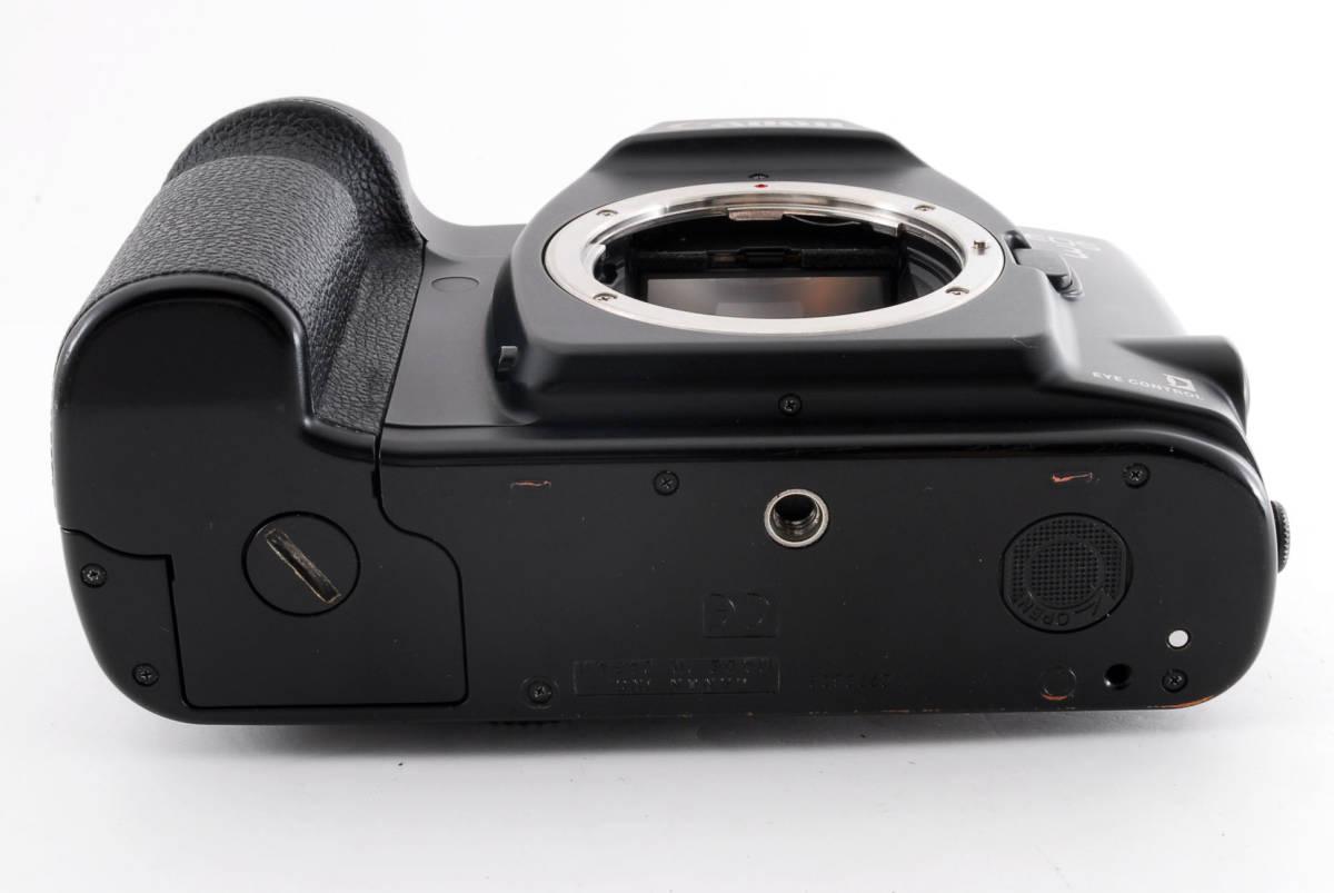 ☆美品 動作正常☆ Canon EOS 3 キャノン EOS3 キヤノン フィルム 一眼レフ カメラ_画像8
