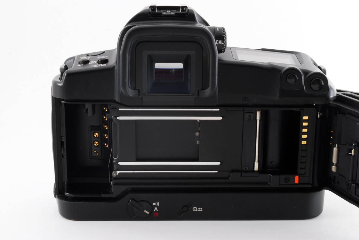 ☆美品 動作正常☆ Canon EOS 3 キャノン EOS3 キヤノン フィルム 一眼レフ カメラ_画像9