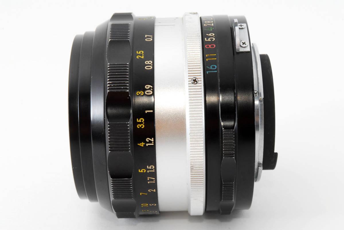 ☆美品 明るい単焦点☆ Nikon NIKKOR-S.C Auto 50mm F1.4 ニコン レンズ LENS NIKKOR S.C_画像9