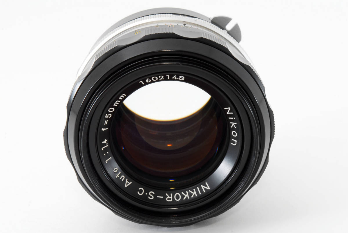 ☆美品 明るい単焦点☆ Nikon NIKKOR-S.C Auto 50mm F1.4 ニコン レンズ LENS NIKKOR S.C_画像4