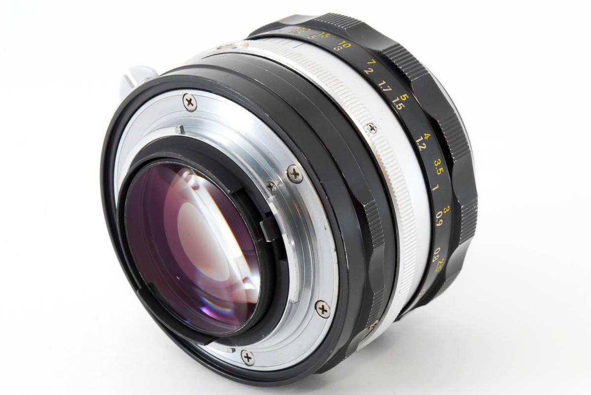 ☆美品 明るい単焦点☆ Nikon NIKKOR-S.C Auto 50mm F1.4 ニコン レンズ LENS NIKKOR S.C_画像6