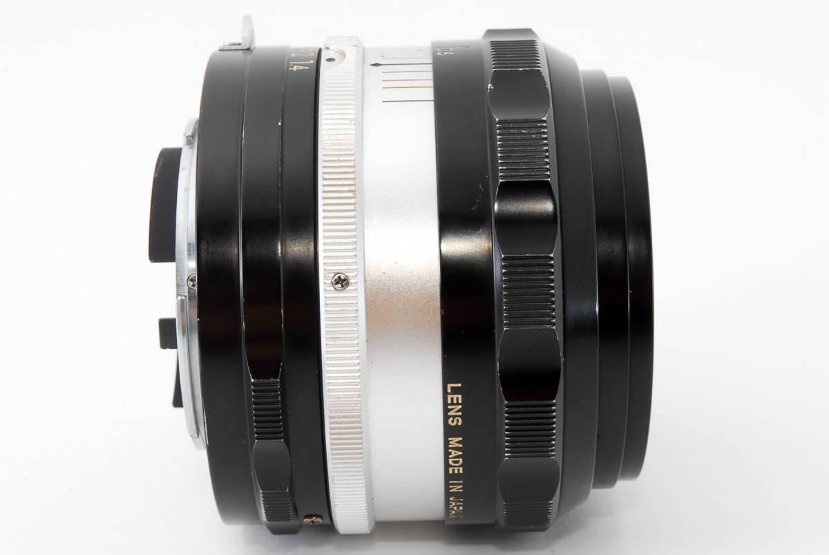 ☆美品 明るい単焦点☆ Nikon NIKKOR-S.C Auto 50mm F1.4 ニコン レンズ LENS NIKKOR S.C_画像10