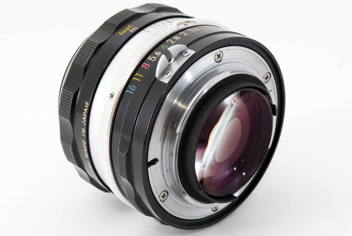 ☆美品 明るい単焦点☆ Nikon NIKKOR-S.C Auto 50mm F1.4 ニコン レンズ LENS NIKKOR S.C_画像8