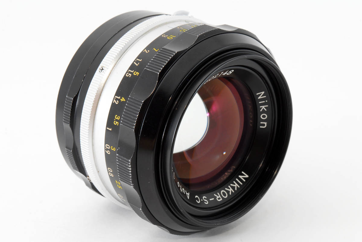 ☆美品 明るい単焦点☆ Nikon NIKKOR-S.C Auto 50mm F1.4 ニコン レンズ LENS NIKKOR S.C_画像5