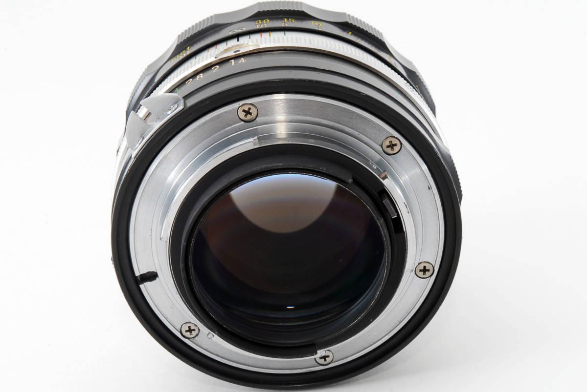 ☆美品 明るい単焦点☆ Nikon NIKKOR-S.C Auto 50mm F1.4 ニコン レンズ LENS NIKKOR S.C_画像7
