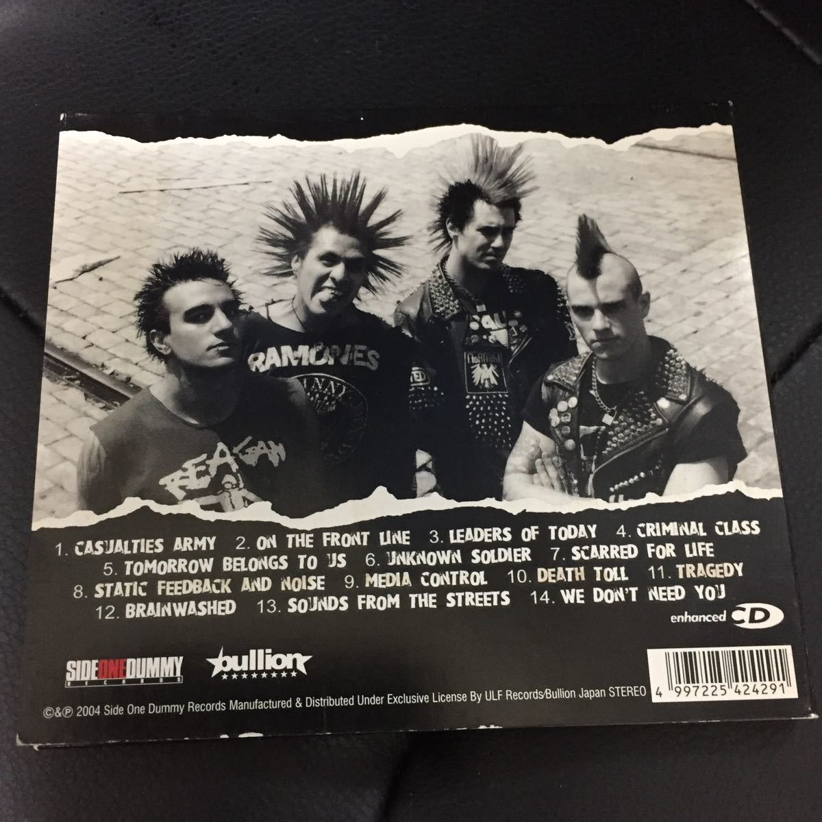 THE CASUALTIES 【ON THE FRONT LINE】_画像2
