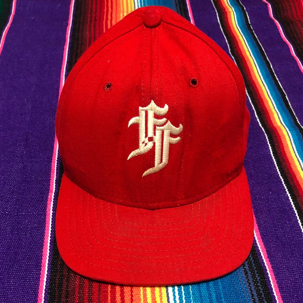 激レア!初期 IGNITION45(イグニッション45)NEW ERA(ニューエラ)90s USA製 BASE BALL CAP(ベースボールキャップ)59FIFTY CHOPPER チョッパー_画像1