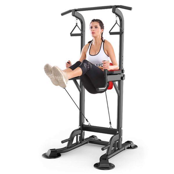 1円~Arumin家庭用ぶら下がり健康器 総合トレーニング器具 多機能 フィットネス機器 懸垂マシン 耐荷重150kg 筋肉トレーニング マルチジム