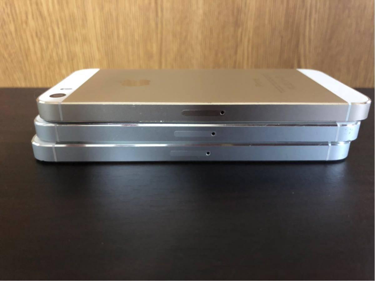 iPhone5s iPhone 5 Apple 利用制限 ◯ au SoftBank docomo 初期化済み 美品 動作確認済み 1円スタート_画像7