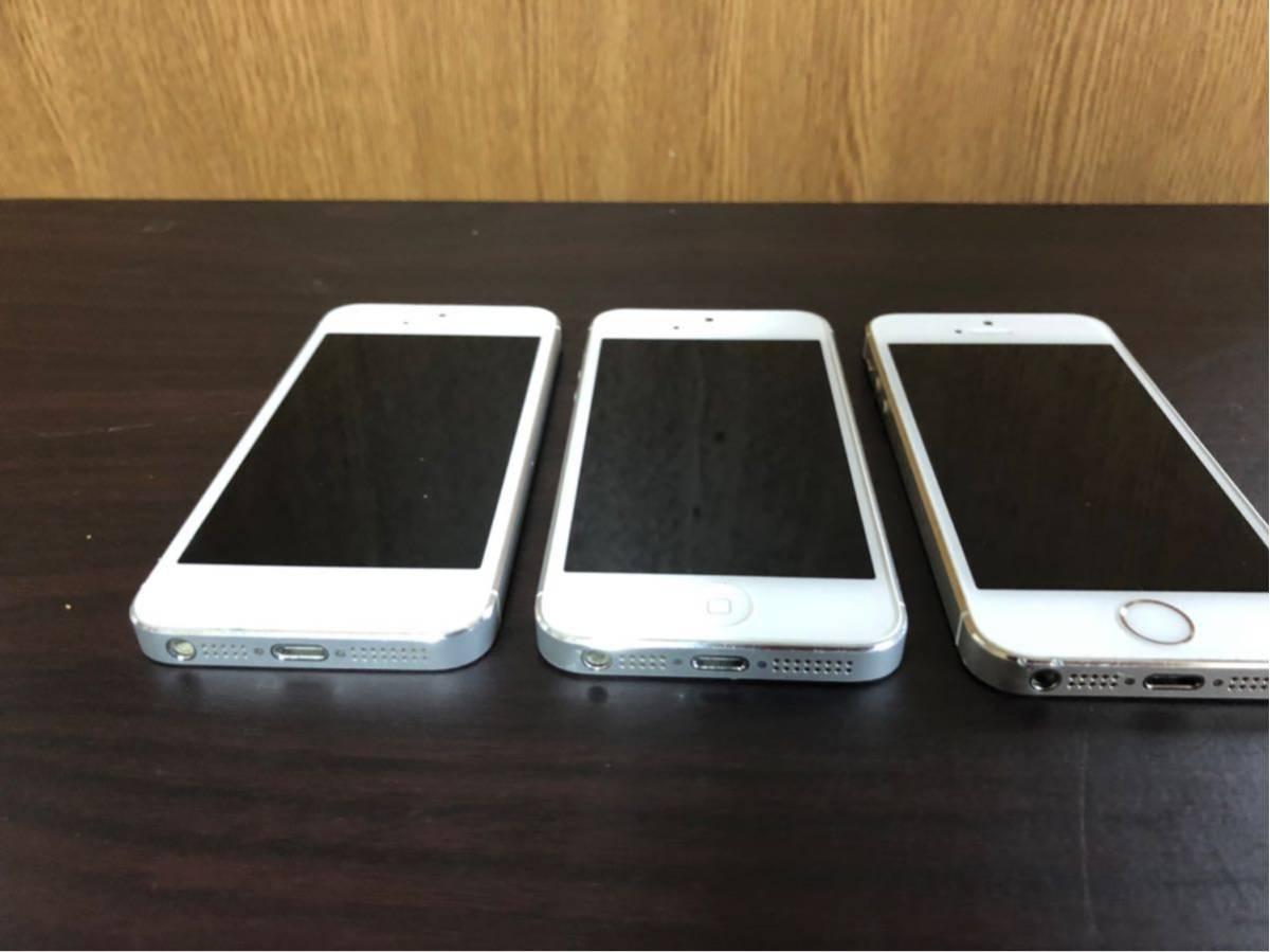iPhone5s iPhone 5 Apple 利用制限 ◯ au SoftBank docomo 初期化済み 美品 動作確認済み 1円スタート_画像2