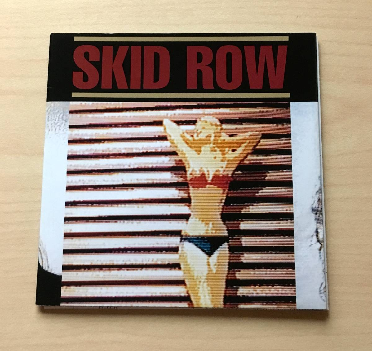 スキッド・ロウ SKID ROW  サブヒューマン・レース 初回限定 日本盤 デジパック仕様 帯付 新品同様_画像3