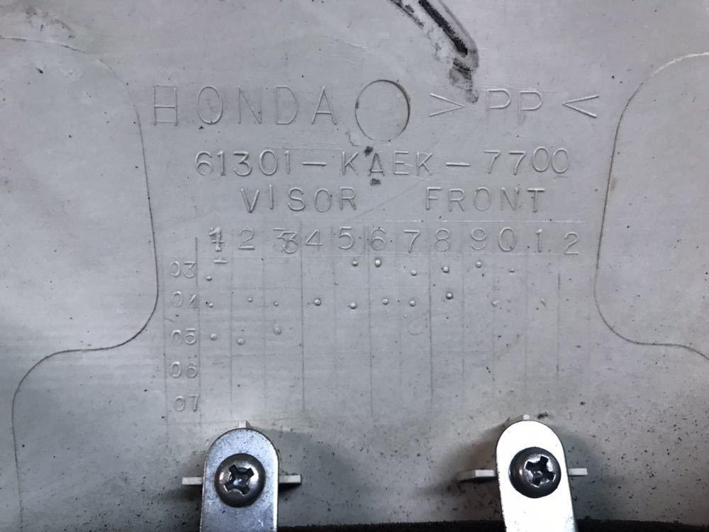 XR250【MD30】純正 フロントカウル ゼッケンプレート ヘッドライト バルブはおまけ_画像5