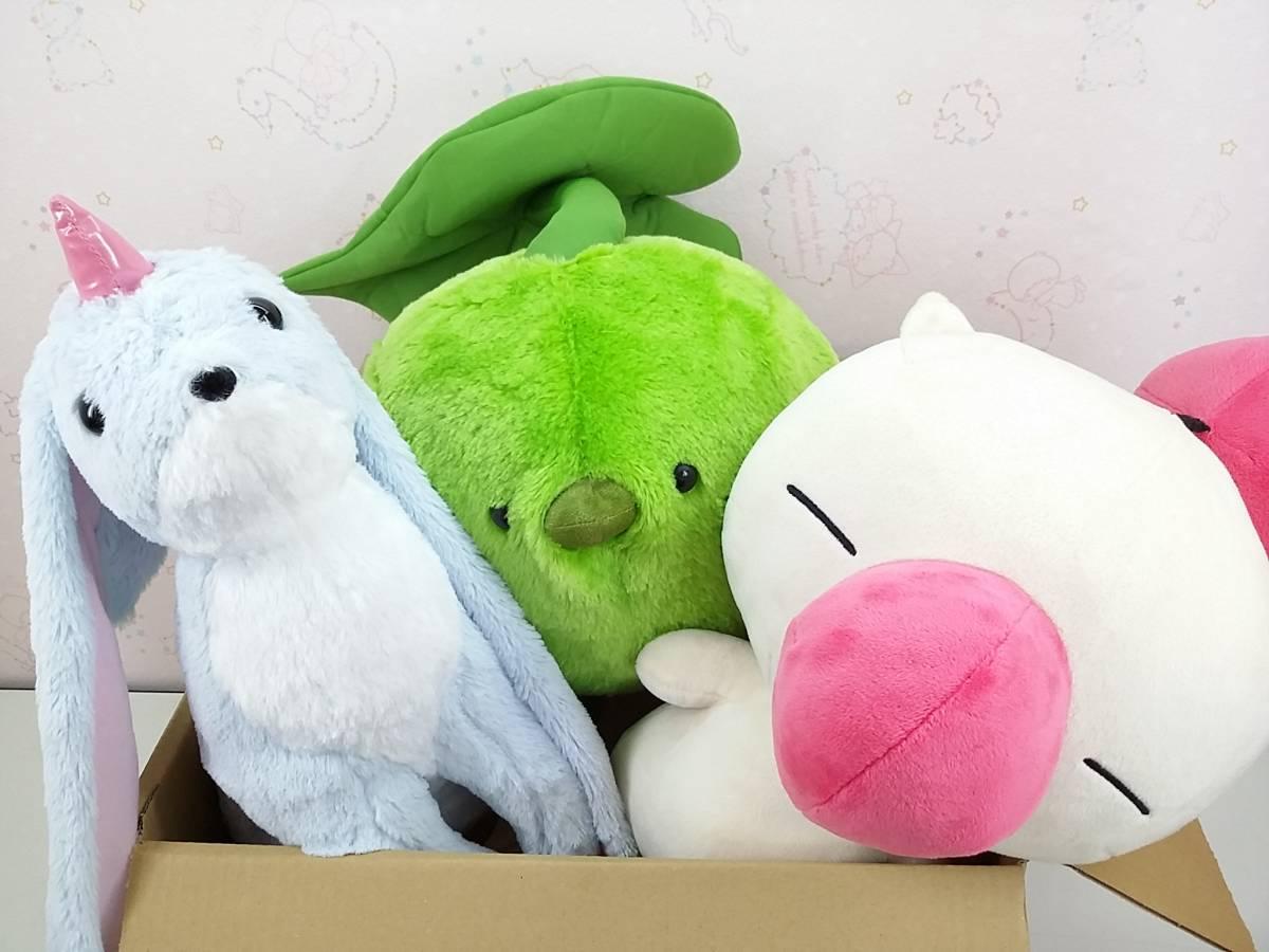 ◇ファイナルファンタジー◇ カーバンクル コロポックル 他 ぬいぐるみ 3個 【100サイズ】