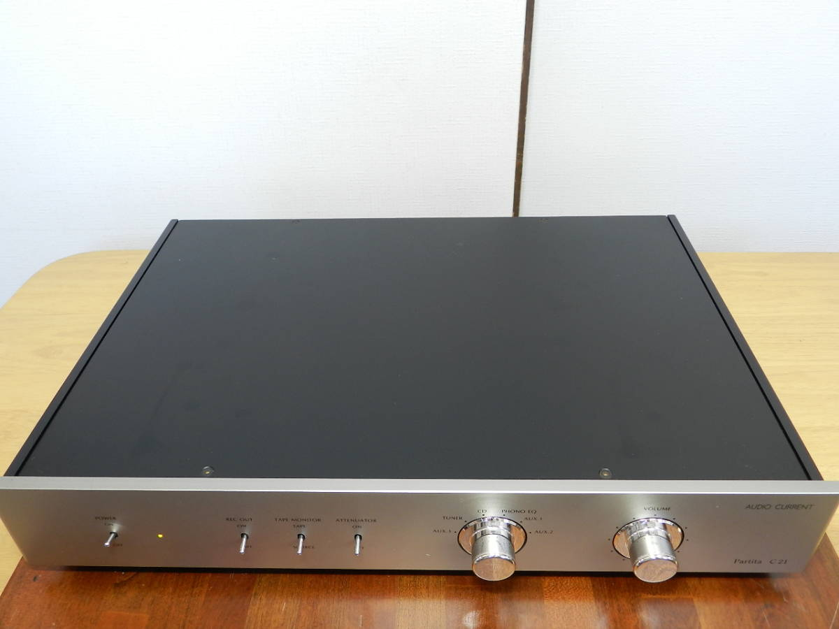 Audio Current Partita C21//LINEプリアンプ//ワンオーナ 元箱あり 美品//発売価格¥507.600_画像5