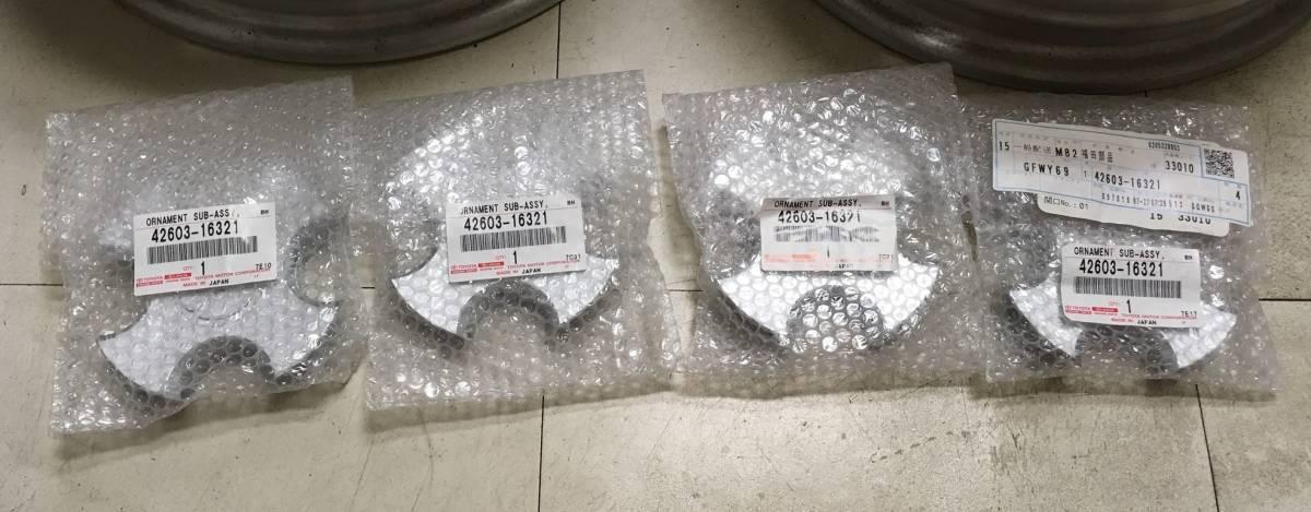 EP91 スターレット ラウム トヨタ純正 14インチ アルミ 4本セット センターキャップ PCD100 4H-100 5.5J +39_画像2