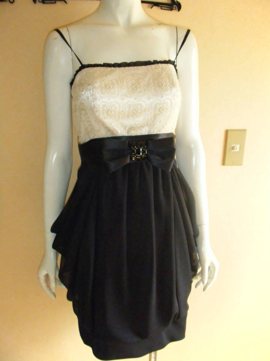 美品 スコットクラブ Aga LENTILLE ランティーユ ドレス ワンピース メ6105_画像1
