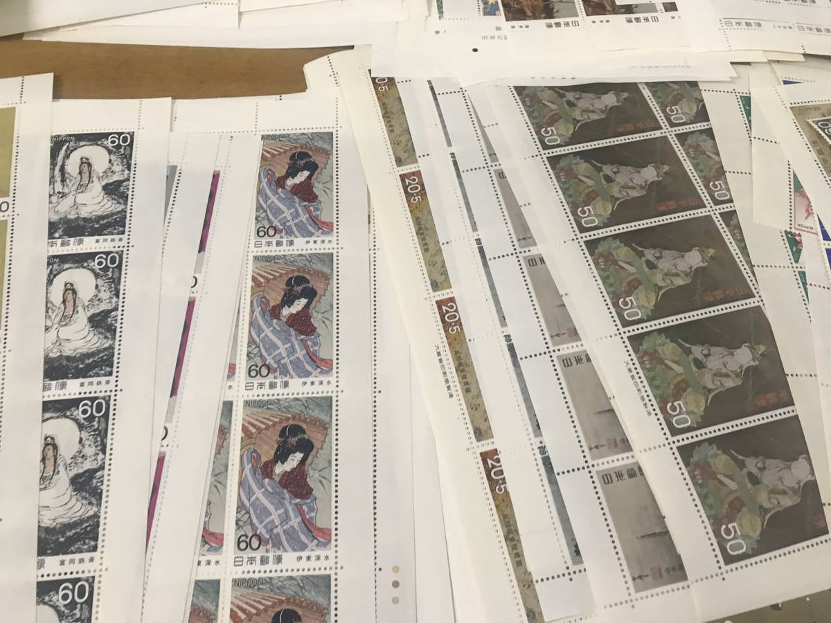 切手 額面 27万円以上 大量 シート バラ まとめて _画像3