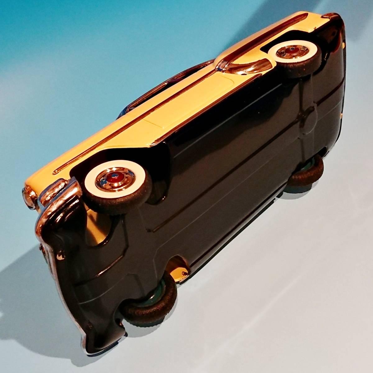 超希少ブリキ! ラインマー シボレー 世界に1つのツートンカラー Linemar Chevrolet マルサン/コスゲ製 リペイント 自動車 ビンテージ _画像9