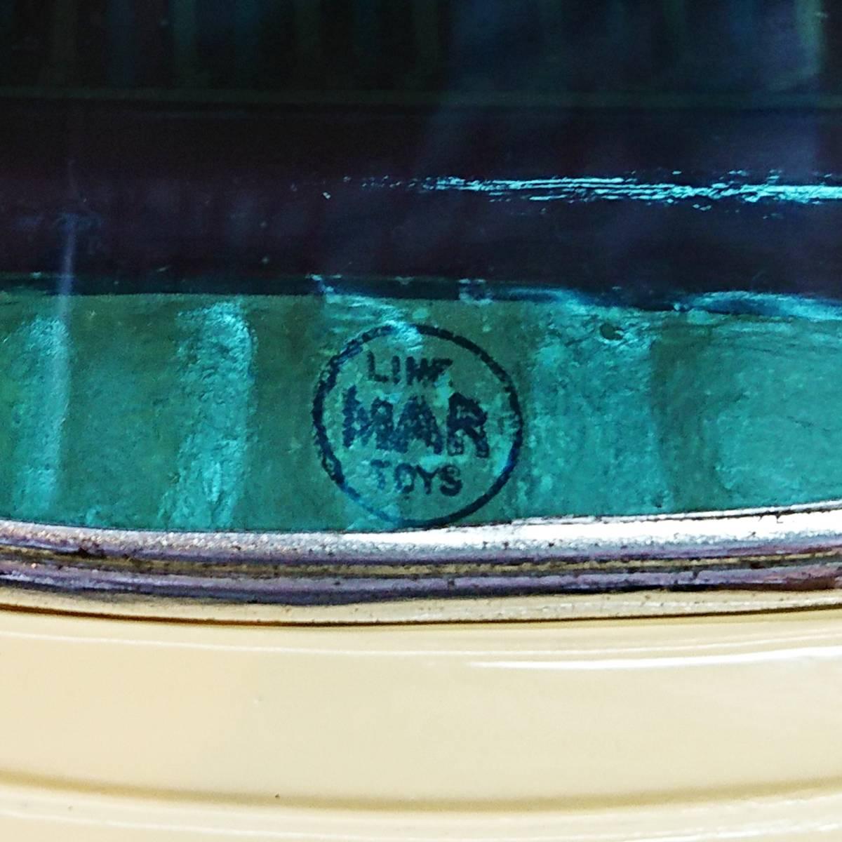 超希少ブリキ! ラインマー シボレー 世界に1つのツートンカラー Linemar Chevrolet マルサン/コスゲ製 リペイント 自動車 ビンテージ _画像10