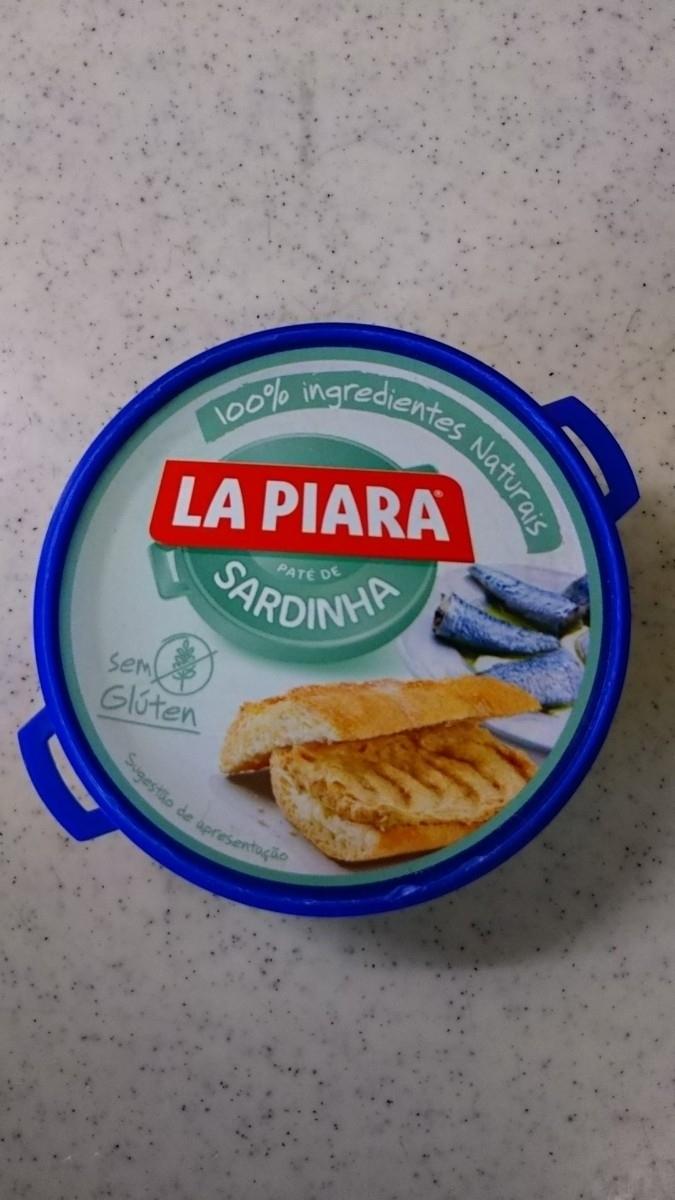 ポルトガル スーパーコンティネンテ サーディン 新鮮 イワシ パテ 100%ナチュラル素材 グルテンフリー 75g おつまみ 缶詰め シーフード _画像1