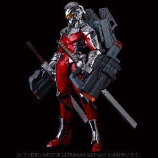 12'HERO's MEISTER ULTRAMAN SUIT Ver7.2 +アップグレードパーツ_画像1