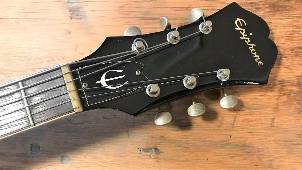 1964年製Epiphone Casino(ジョンが好んだ楽器 Rickenbacker 325、Gibson J-160E, Framus Hottenanny)_画像3