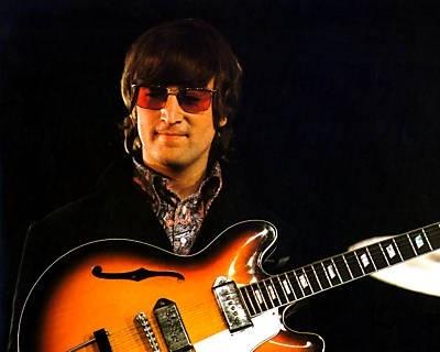 1964年製Epiphone Casino(ジョンが好んだ楽器 Rickenbacker 325、Gibson J-160E, Framus Hottenanny)_画像9