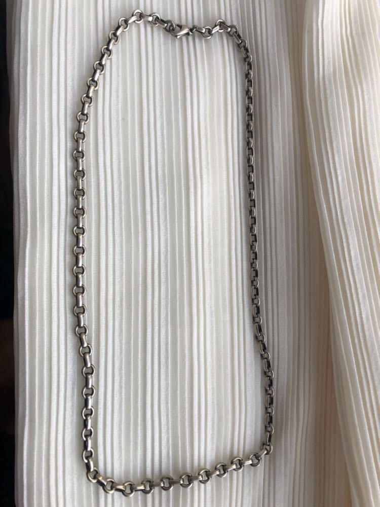 ティファニー シルバー チェーン ネックレス SV925 TIFFANY&Co. _画像2