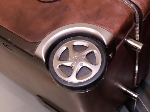 極上品 ベルルッティ 絶盤 ヴェネチアレザー FORMULA 1000 鍵付きキャリーバッグ 旅行鞄 トロリーケース トラベルバッグ Berluti 本物 正規_画像5