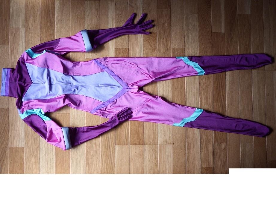 「宇宙戦艦ヤマト2199 メルダ」チャコット製レオタードコスプレ衣装です _画像6