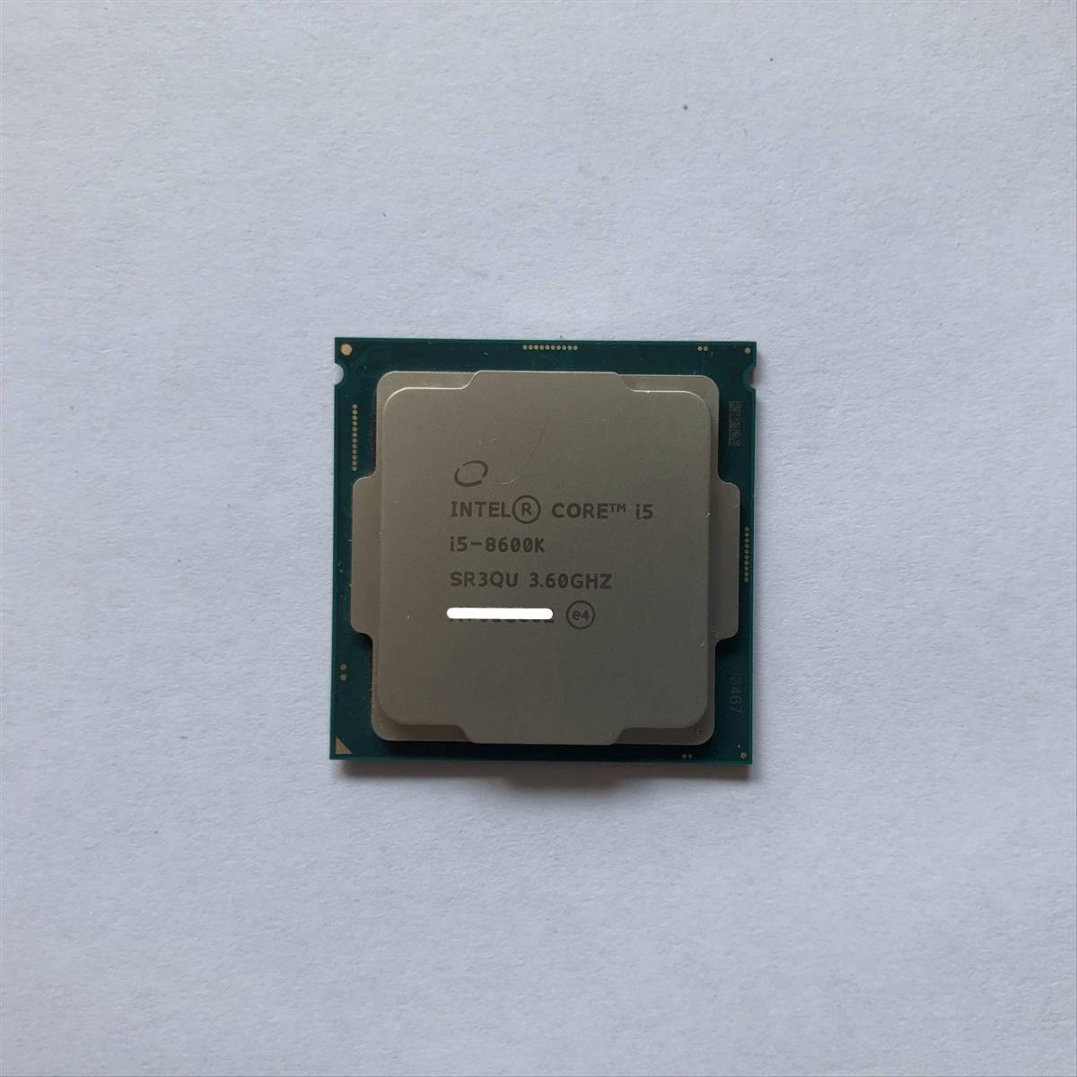 Intel Core i5-8600K SR3QU 3.60GHZ