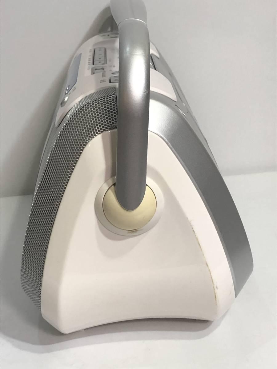 SONY ソニー コンパクト CD ラジオ カセット レコーダー CFD-E100TV 2008年_画像3