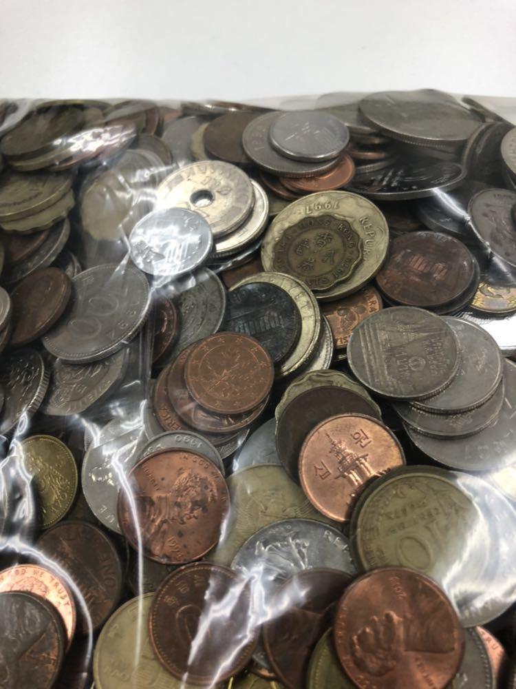外国 コイン 大量 まとめ 約5キロ ②_画像7