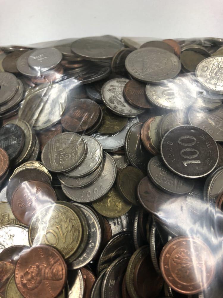 外国 コイン 大量 まとめ 約5キロ ②_画像8