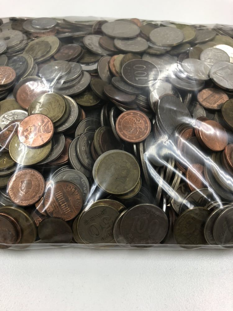 外国 コイン 大量 まとめ 約5キロ ②_画像3