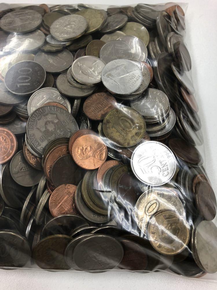 外国 コイン 大量 まとめ 約5キロ ②_画像2