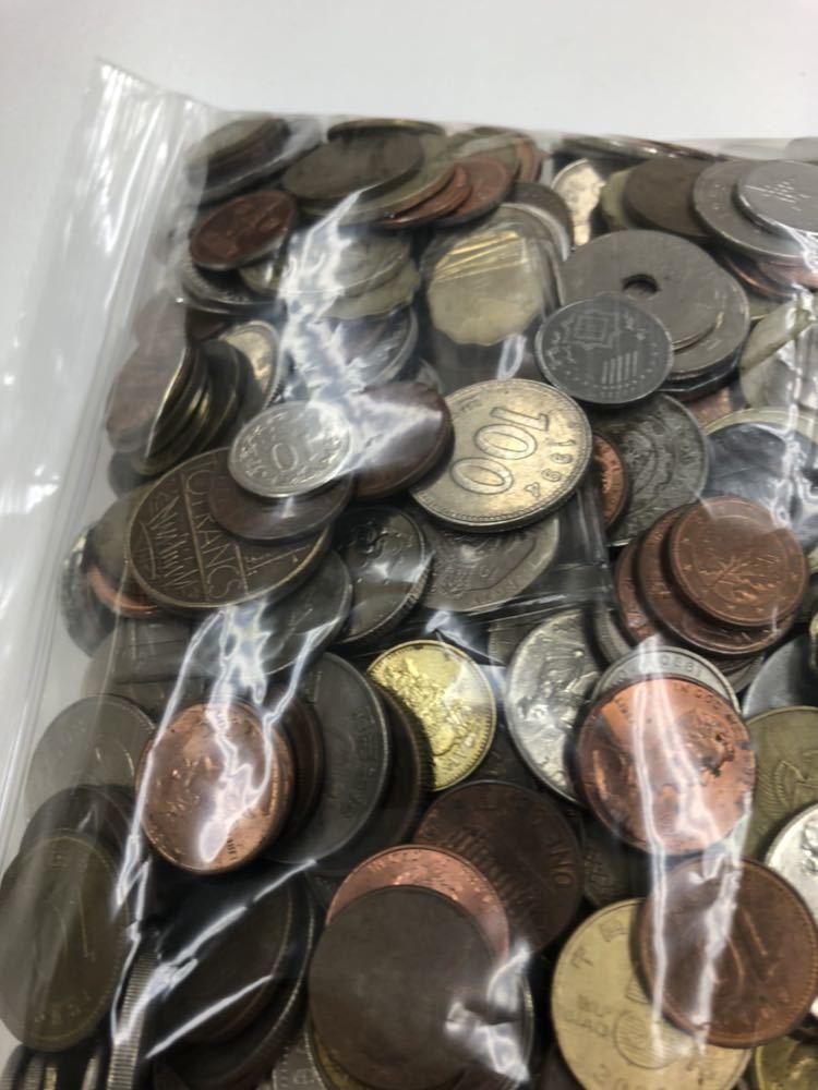 外国 コイン 大量 まとめ 約5キロ ②_画像6