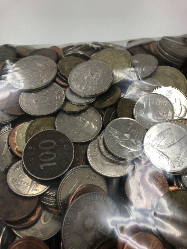 外国 コイン 大量 まとめ 約5キロ ②_画像9