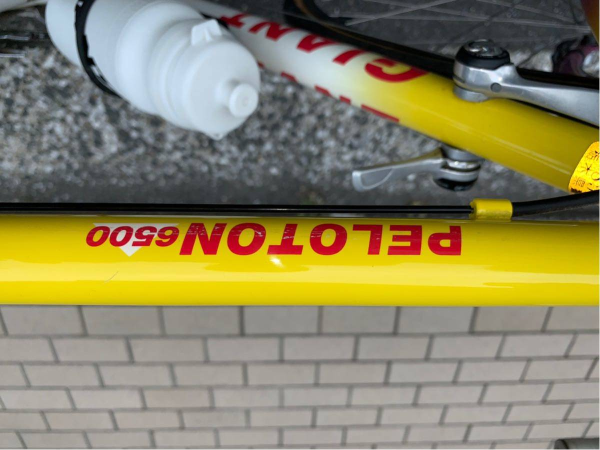 GIANT【ジャイアント】ロードバイク PELOTON6500 ビンテージバイク 本体交換も可能!!当時の保証書有り!_画像8
