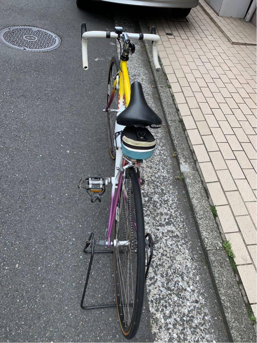 GIANT【ジャイアント】ロードバイク PELOTON6500 ビンテージバイク 本体交換も可能!!当時の保証書有り!_画像9