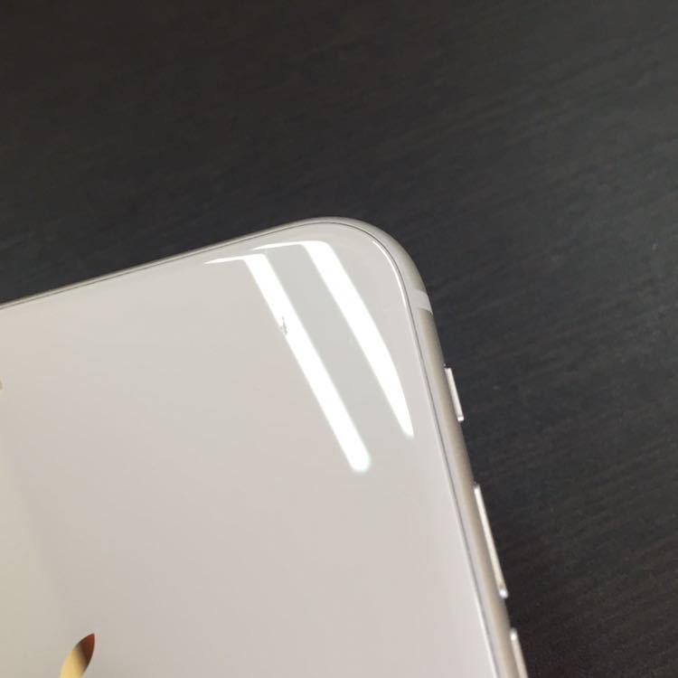 1円~!! SIMフリー iphone8Plus 64GB シルバー ☆バッテリー95%☆ Apple アイフォン au ドコモ ソフトバンク_画像7