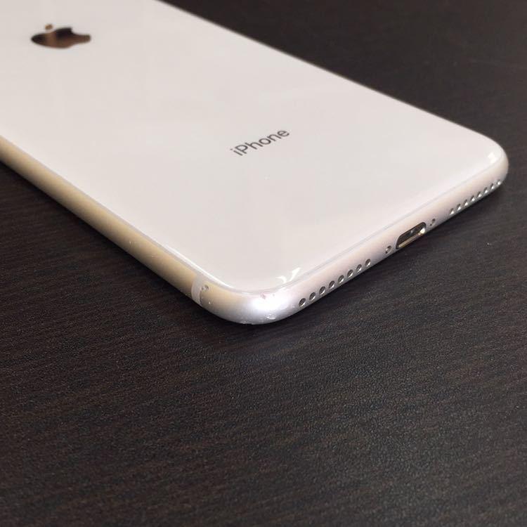 1円~!! SIMフリー iphone8Plus 64GB シルバー ☆バッテリー95%☆ Apple アイフォン au ドコモ ソフトバンク_画像6