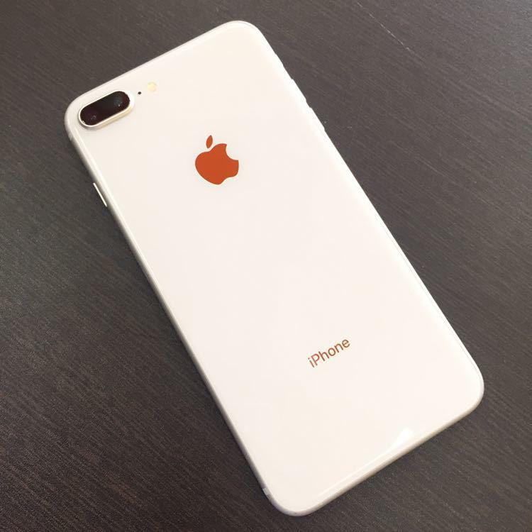 1円~!! SIMフリー iphone8Plus 64GB シルバー ☆バッテリー95%☆ Apple アイフォン au ドコモ ソフトバンク_画像2