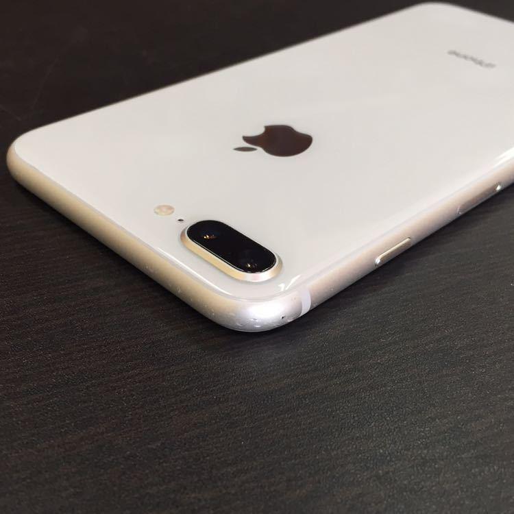 1円~!! SIMフリー iphone8Plus 64GB シルバー ☆バッテリー95%☆ Apple アイフォン au ドコモ ソフトバンク_画像3